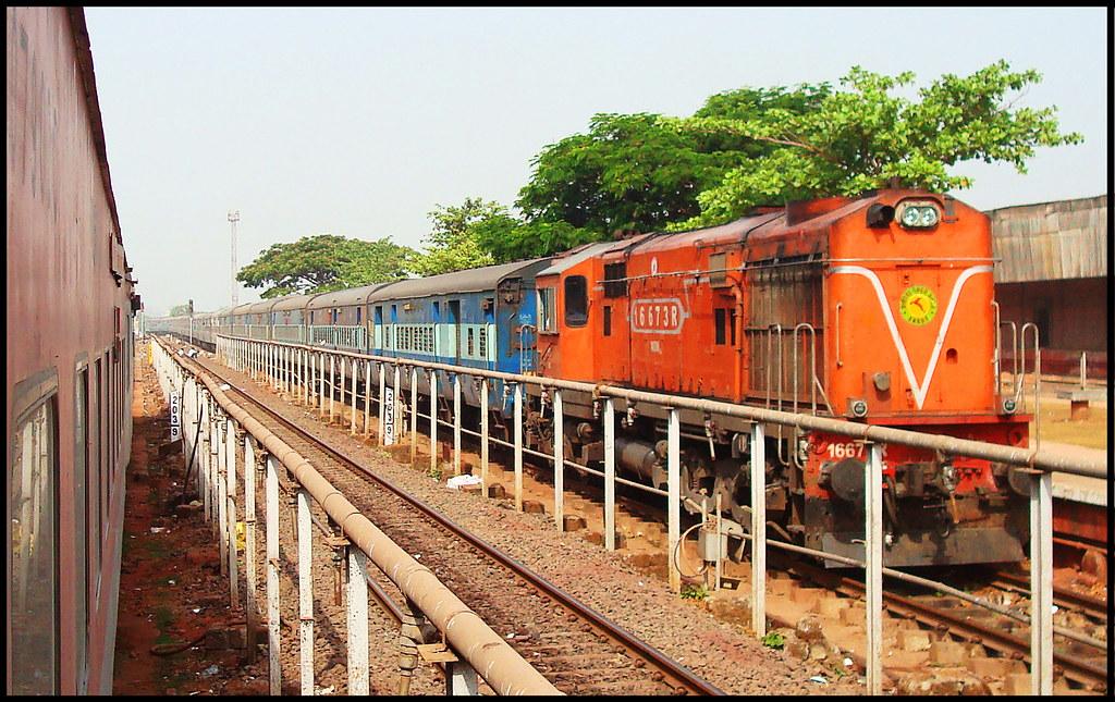 Netravati Express train timings