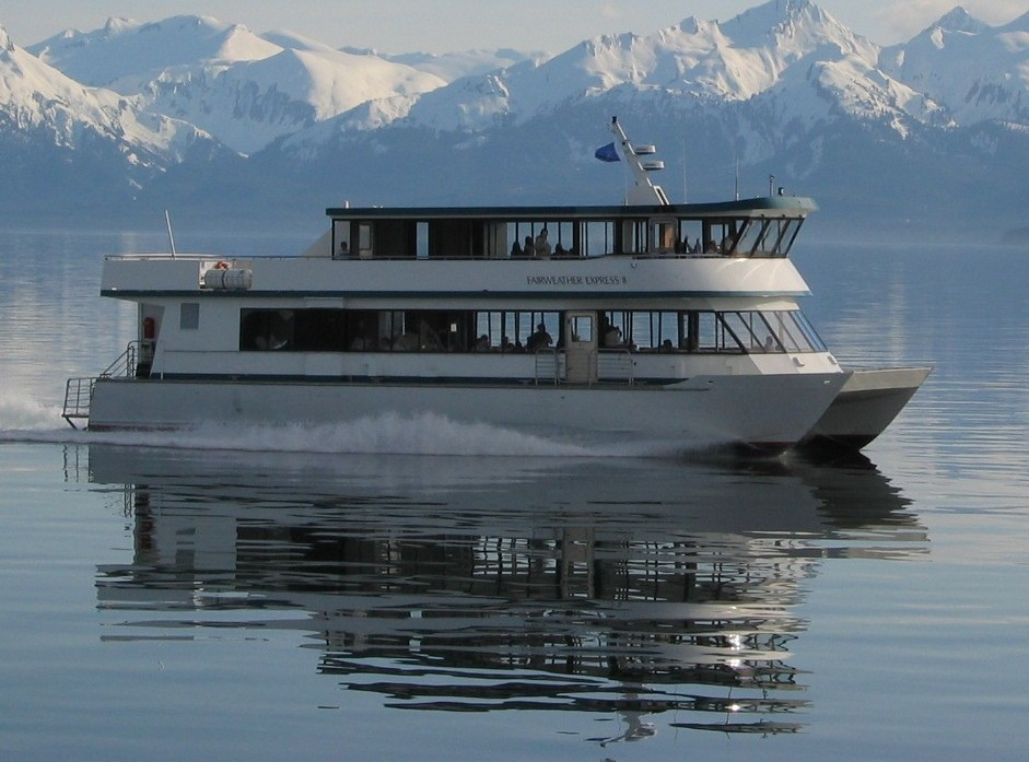 M V Fairweather Express Ii Our New Fast Catamaran The