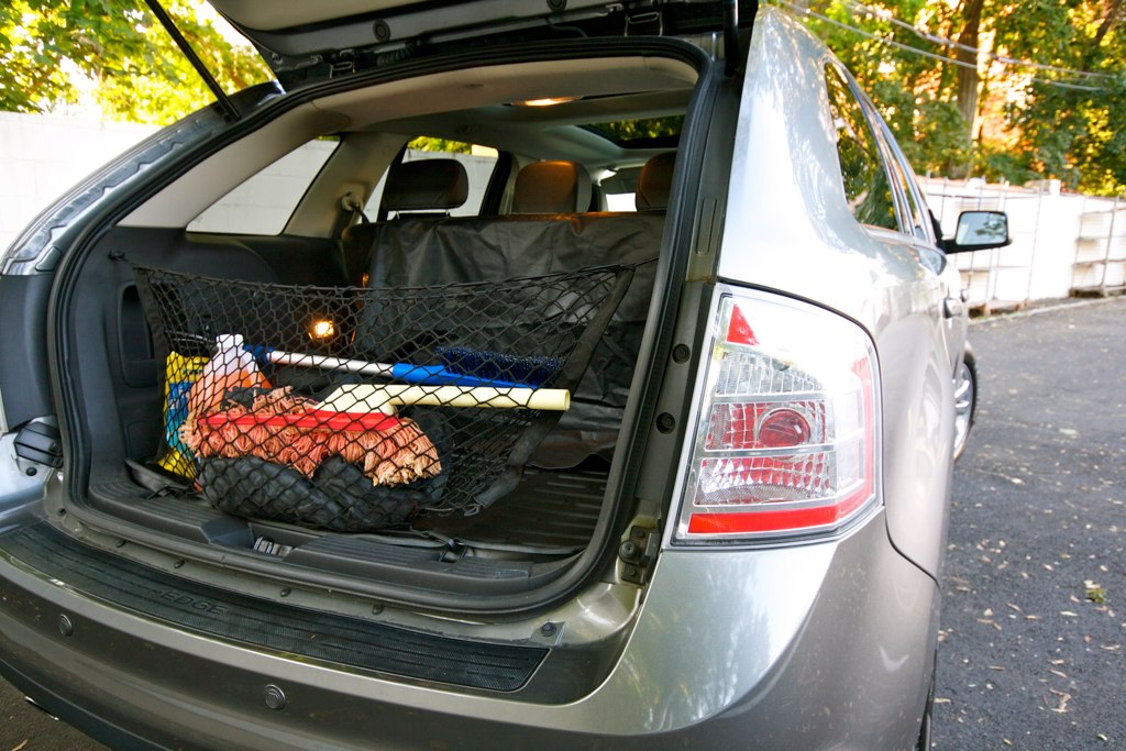 Ford Edge Cargo Area With Net By Josh Ferris