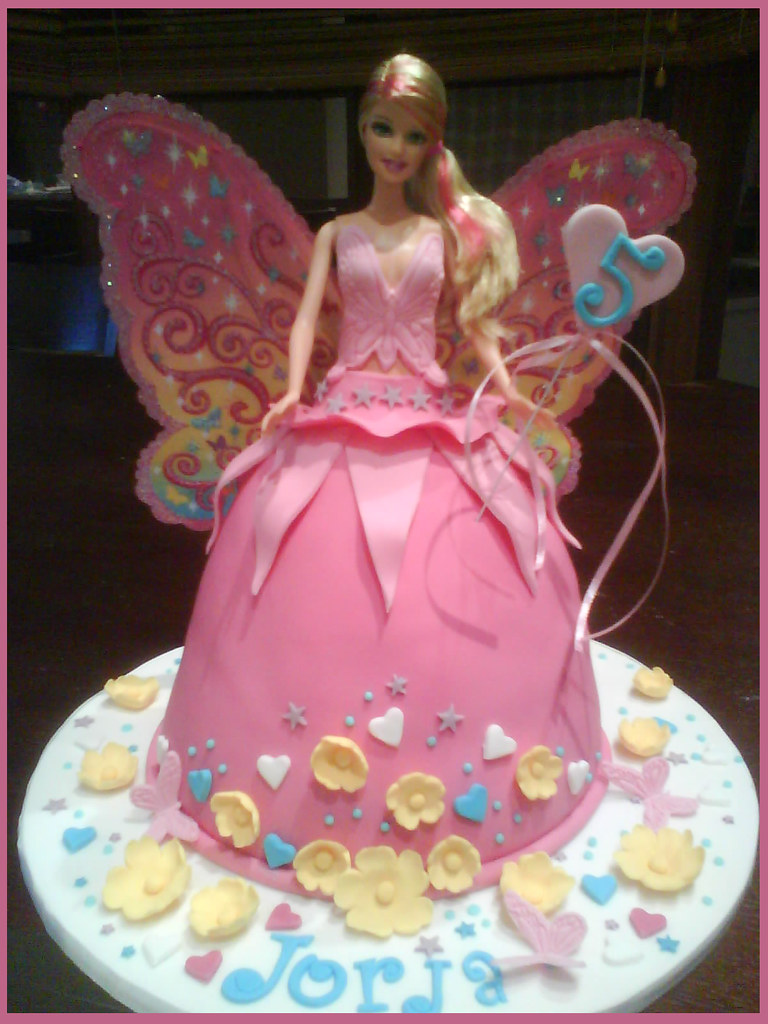 Barbie Fairy Doll Cake Barbie Fairy Doll Birthday Cake Flickr