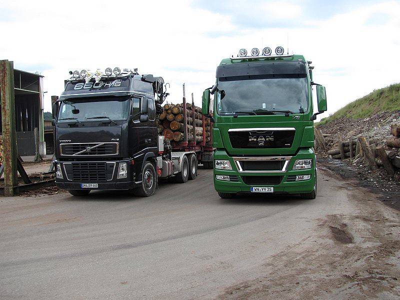 VOLVO FH16 & MAN TGX V8 | GERMANY:Volvo FH16 & Man Tgx V8 | Flickr