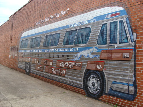Wall mural anniston al this wall mural is painted on for Alabama wall mural