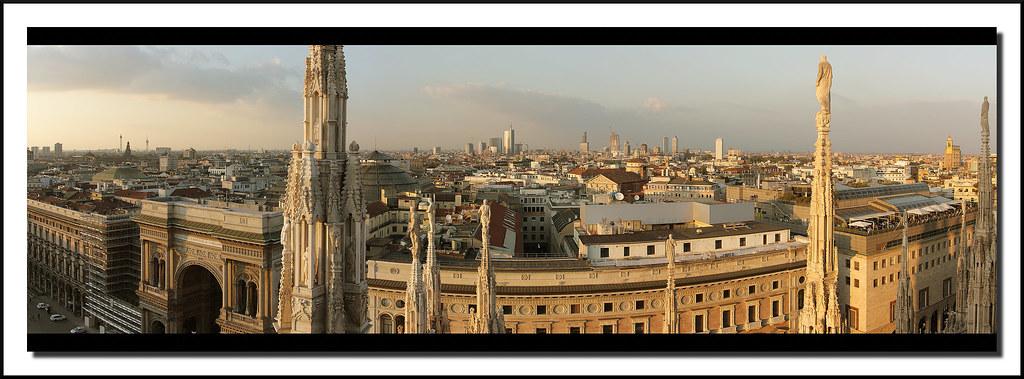 Milano Dalle Terrazze Del Duomo Milano Dalle Terrazze Del