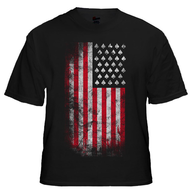 Spade Usa Flag T Shirt Design Flickr Photo Sharing