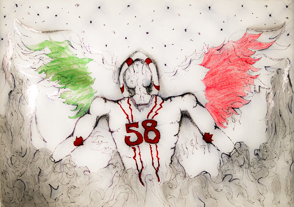 marco simoncelli tribute angel drawing | Just a drawing I wa… | Flickr