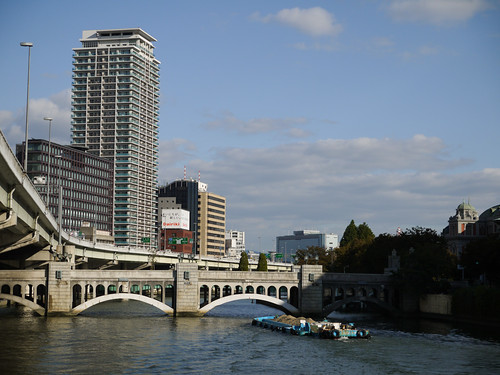 view from Oebashi bridge | by double-h