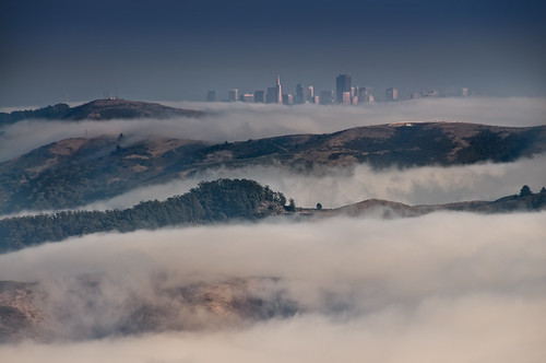 Marin Headlands and San Francisco from Mt Tamalpais | by Harold Davis