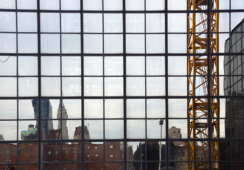 Reflection on Javitz Center | by Harris Graber