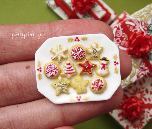 Miniature Christmas 2011 - Christmas Cookies | by PetitPlat - Stephanie Kilgast