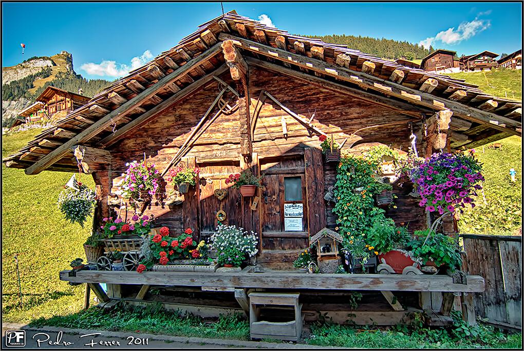 Suiza pueblos con encanto gimmelwald alpk se zu verk for Jardines con encanto fotos