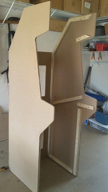 how to build a mame cabinet