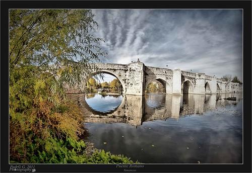 Puente Romano Matrimonio : Puente romano de simancas la ruta del hereje en mm el