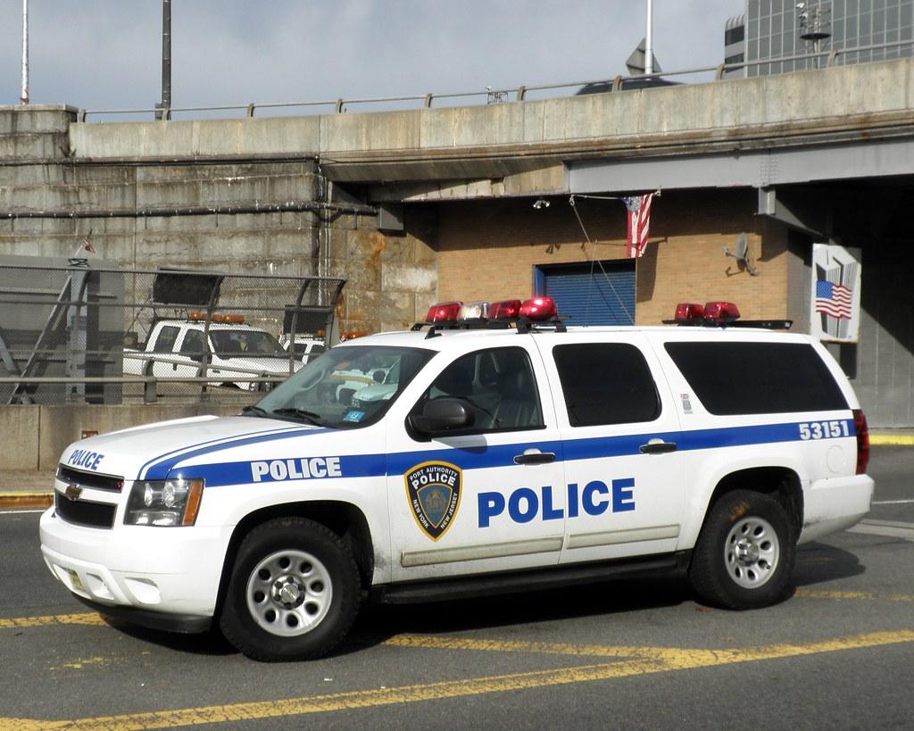 Papd Port Authority Police Car George Washington Bridge