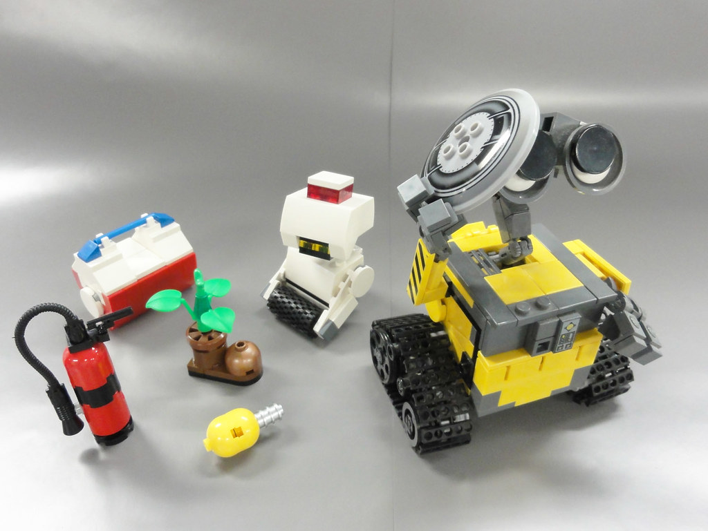 lego wall e 02 this is my lego idea and creation for. Black Bedroom Furniture Sets. Home Design Ideas
