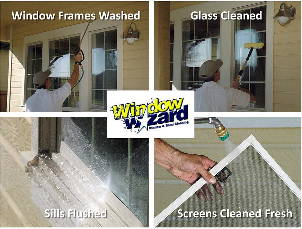 Window Wizard 4 Panel Exterior Window Cleaning Window