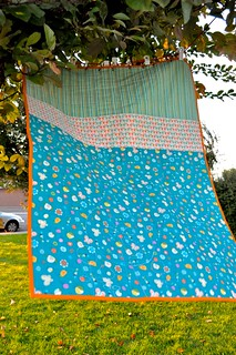 coin quilt - back | by Diane {from blank pages...}