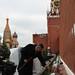 Expedition 30 Commander Dan Burbank at Kremlin Wall