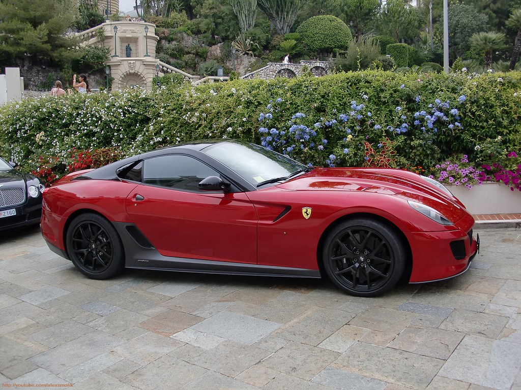 ferrari 599 gto italian ferrari 599 gto tristrato black flickr. Black Bedroom Furniture Sets. Home Design Ideas