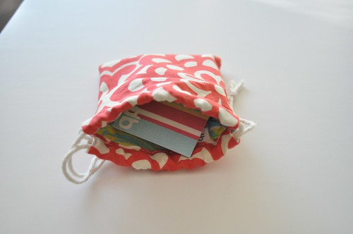 Match game cards bag | by Diane {from blank pages...}