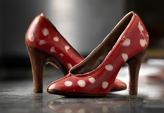 Chocolate shoes by Gauthier, Mechelen (c)www.milo-profi.be | by VISITFLANDERS