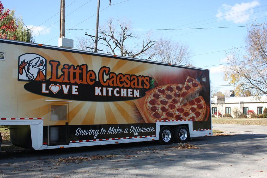 Little Caesars Mobile Pizza Kitchen