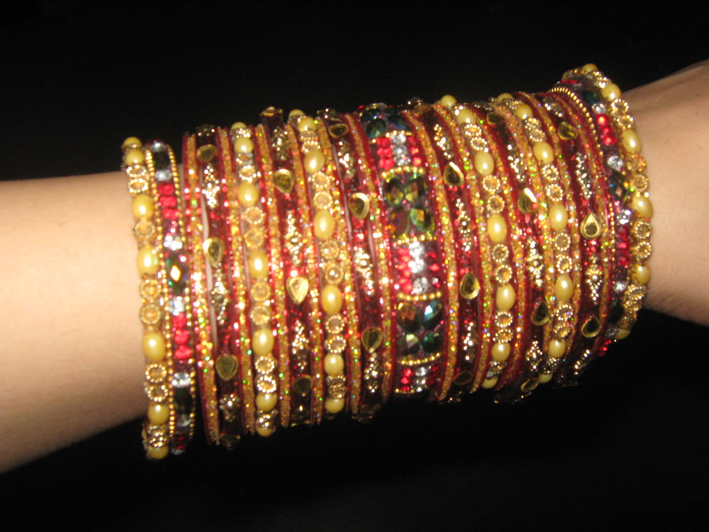 red | more bangles in my hand | I m Peace | Flickr