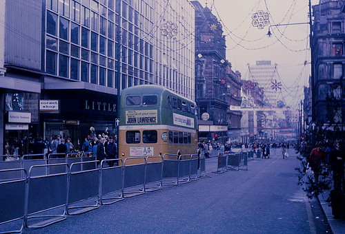 Sauchiehall Street bus only experiment 1970 | by Guy Arab UF