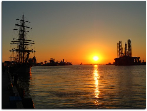 ship sunset... | by lutzm@n.........