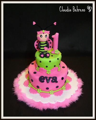 Birthday Cake Designs Young Adults : ladybug cake eva - claudia behrens claudia behrens ...