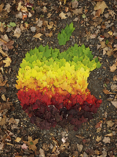 Apple Logo Autumn Spectrum 08/10/11 | by Mr. dale