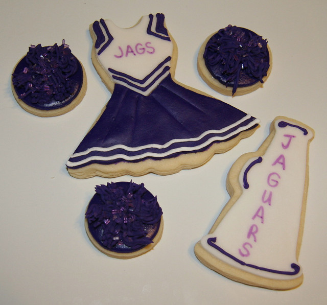 Cheerleading Cookies Flickr Photo Sharing