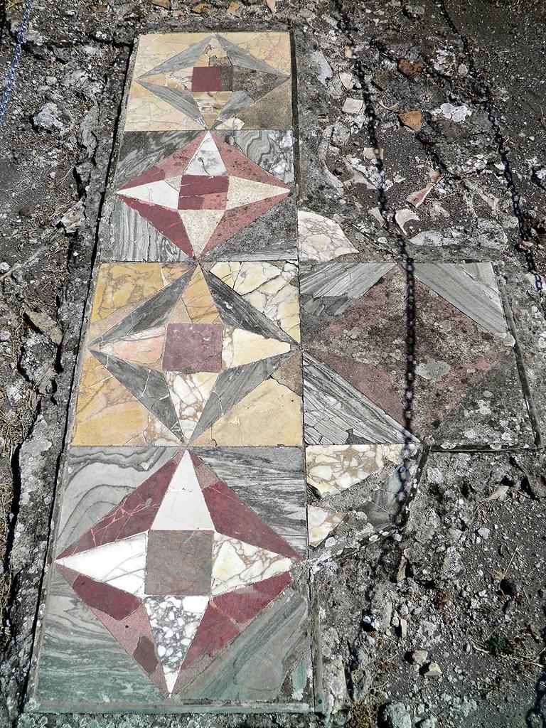 Opus Sectile Floor Hadrian S Villa Tivoli It Was The