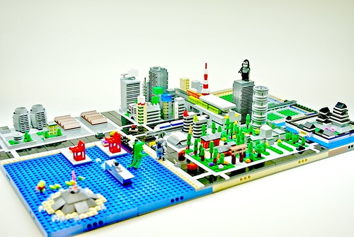 Micro LEGO Tokyo - V2 | by Dunechaser
