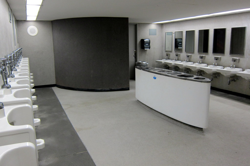 Nyc Jfk Airport Twa Flight Center Bathroom The Twa