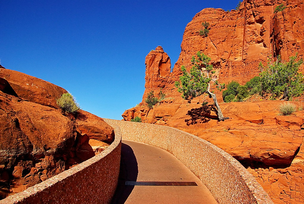 ... The Pathway To The Chapel Of The Holy Cross   Sedona | By Al_HikesAZ