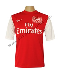 ecc1286ae Arsenal - Home - Soccer Jersey Football Shirt 2011 2012 - Front