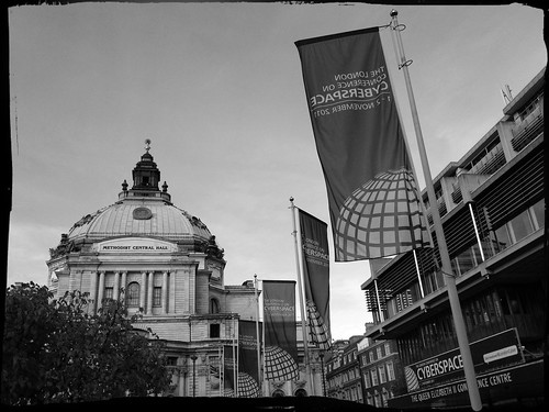 Arriving at The London Cyber Conference | by Documentally