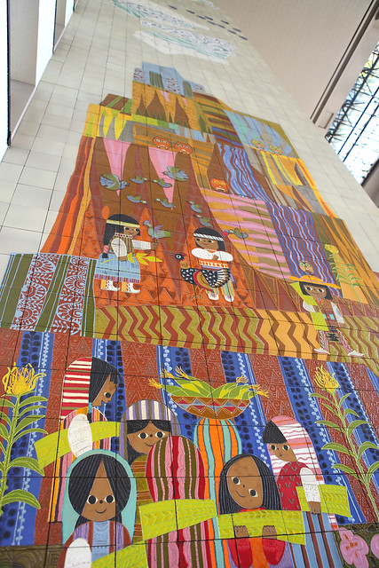 The grand canyon concourse mural flickr photo sharing - Grand calendrier mural ...