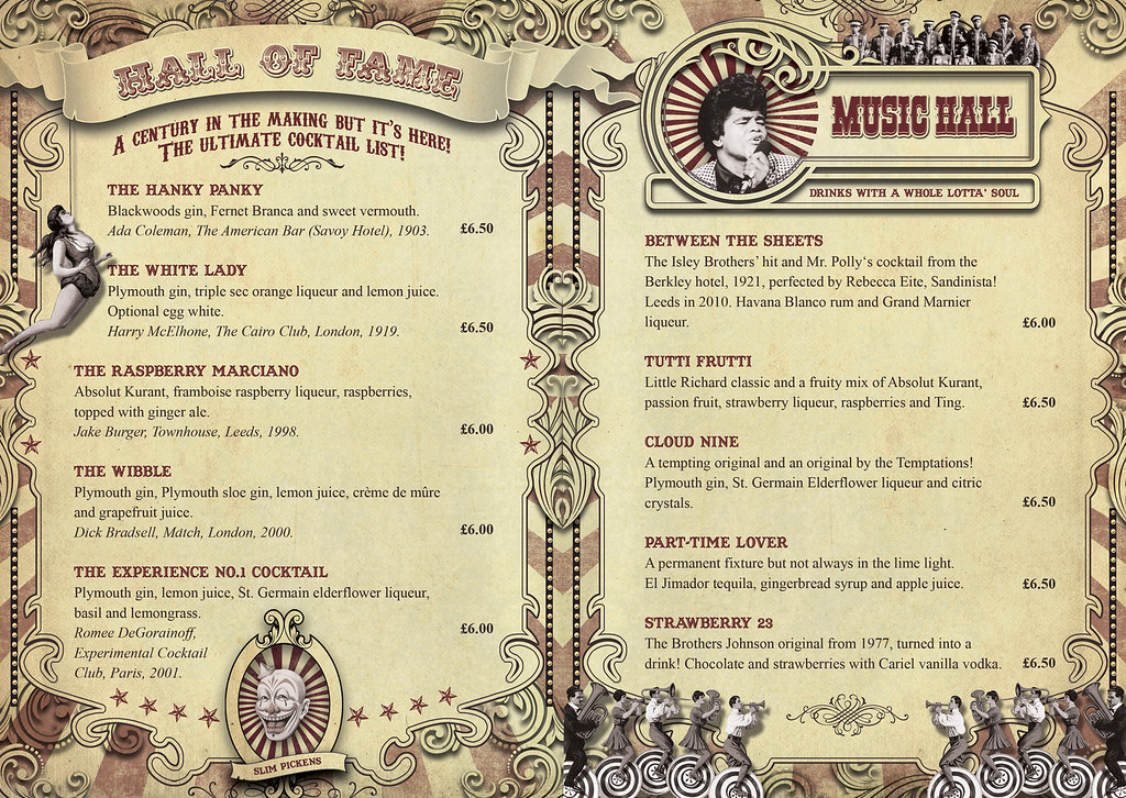 smokestack cocktail menu page 3 amp 4 danny pig flickr