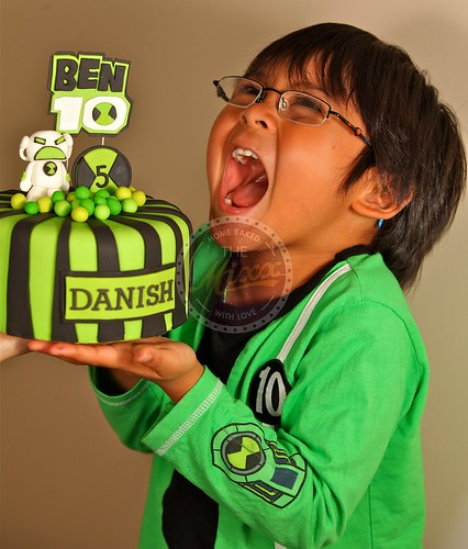Danish and Ben 10 Cake | by The Mixx Home Baked With Love (Azlinda)