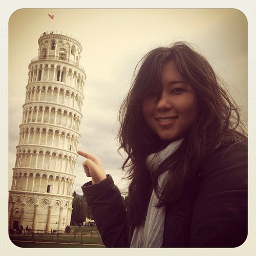 Me. Pisa. | by Elissa @ 17 and Baking