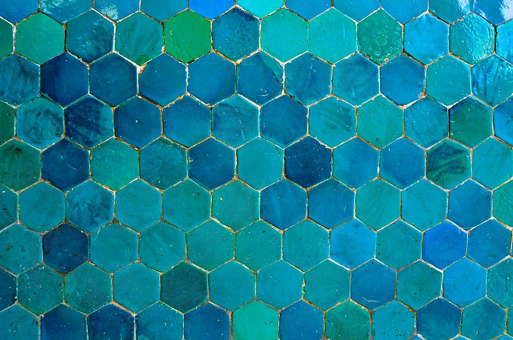 Islamic Tile Work : Uzbekistan bukhara kalon mosque islamic tile work flickr