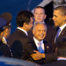 President Obama is Greeted by Indonesian Officials