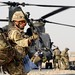 Soldiers Board a Chinook Helicopter at Camp Bastion, Afghanistan