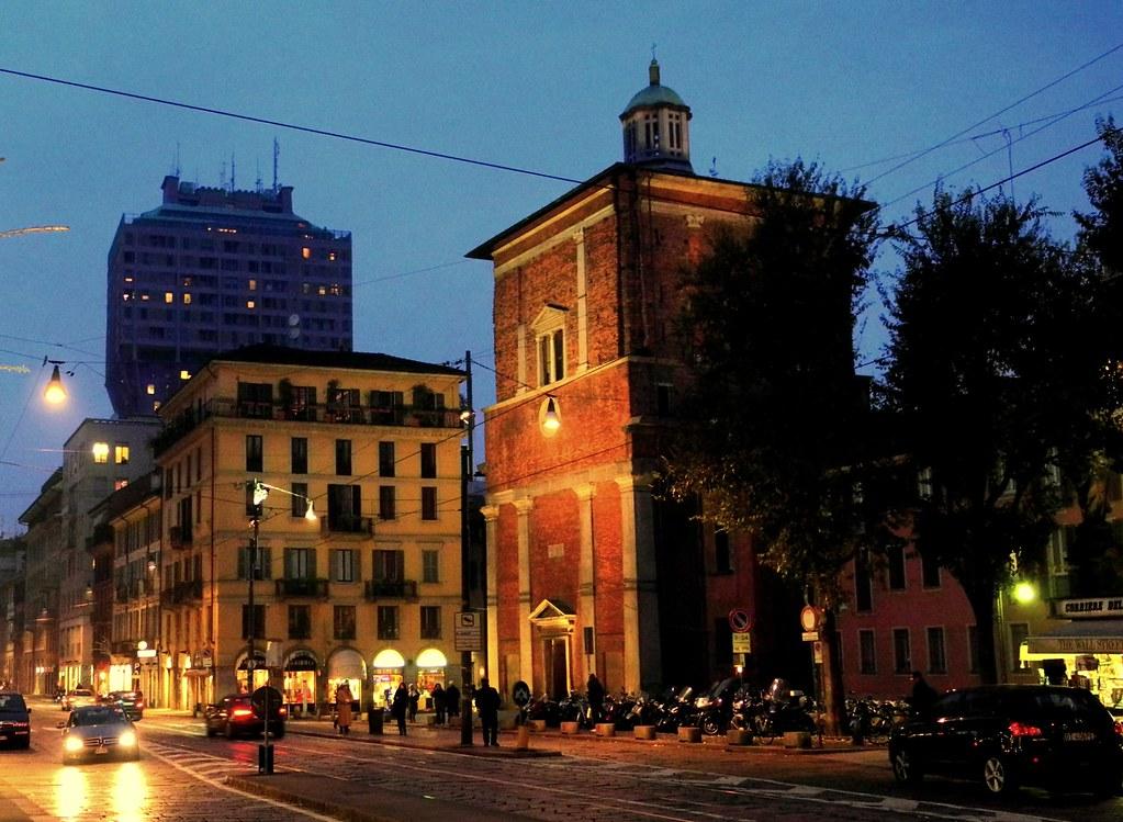 Milano corso di porta romana basilica di san nazaro in br for Corso di porta genova milano