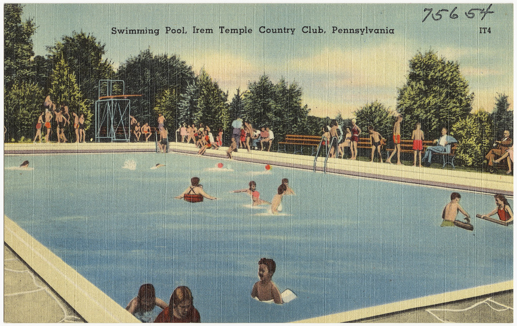 Swimming Pool Irem Temple Country Club Pennsylvania Flickr