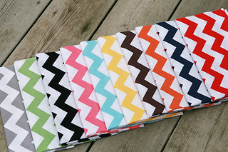 Riley Blake Chevron | by Fresh Lemons : Faith