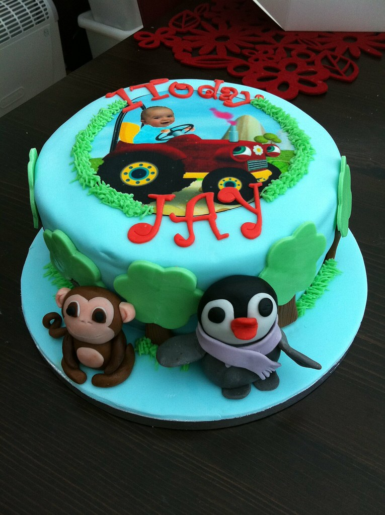 Baby Jake cbeebies cake Kelscupcakes Flickr