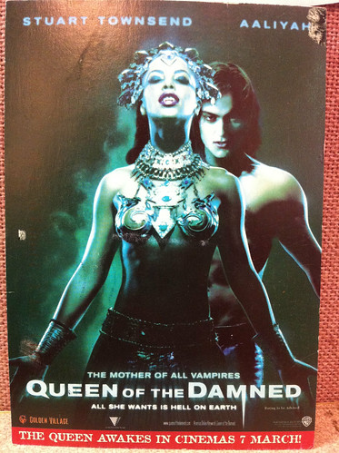 Queen of the Damned postcard | by hippofairy