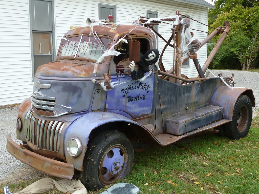 40's Vintage Chevrolet COE Tow Truck | Ohio. Another view ...